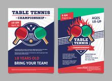 Table Tennis, Ping Pong Champi...