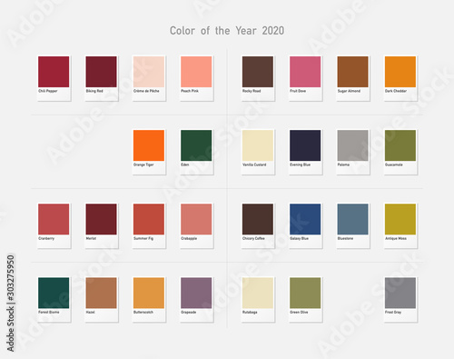 Photo 2020 color collection.