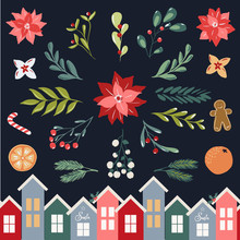 Christmas Clipart Vector Illus...