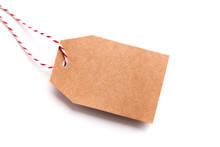 Paper Label With Copy Space Fo...