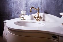 Bathroom Interior In Classic S...