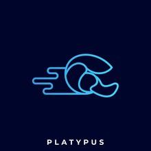 Platypus Illustration Vector T...