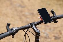 Black Handlebar Of Sport Bicyc...