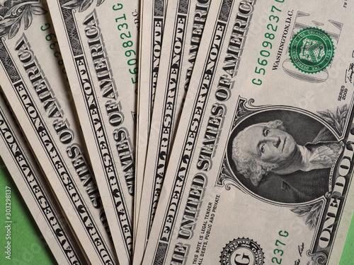 Canvastavla Dollar notes, United States