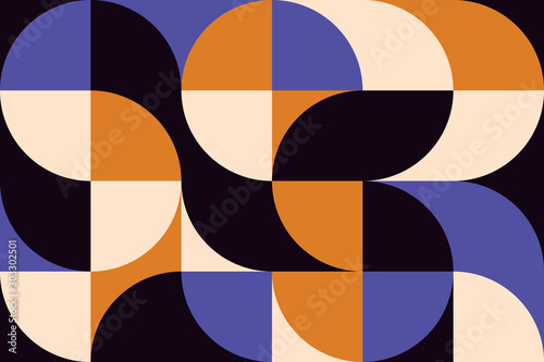 Fotomural  abstract-geometry-artwork-04