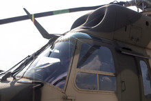 Closeup Of The Military Helico...