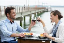 Romantic Dinner At Harbor