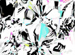 canvas print picture Abstract pattern. Digital art design