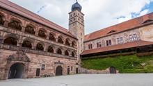 Inner Court Of The Plassenburg...