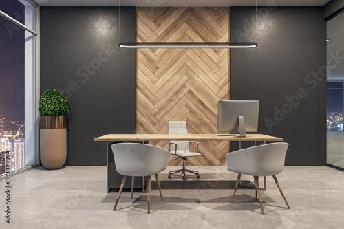 Fototapeta New office interior obraz na płótnie
