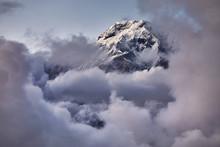 Annapurna South Peak In Himala...