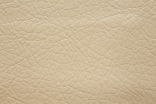 Elegant Beige Leatherette Background.