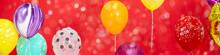 Colorful Balloon Happy New Yea...