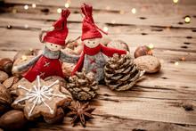Christmas Cookies With Christm...
