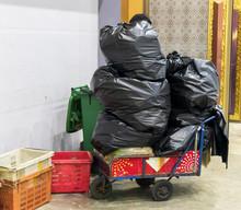 Garbage Cart Scavenger Waste B...