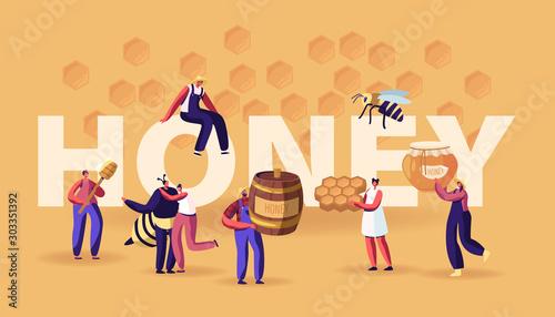 Honey Concept Wallpaper Mural