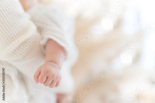 Carta da parati  ふんわり赤ちゃんパーツ