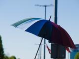 Fototapeta Tęcza - Parasol
