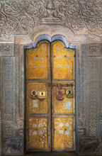 The Old Yellow Two-fold Doors ...