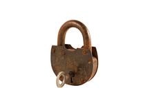 Old Barn Lock And Key