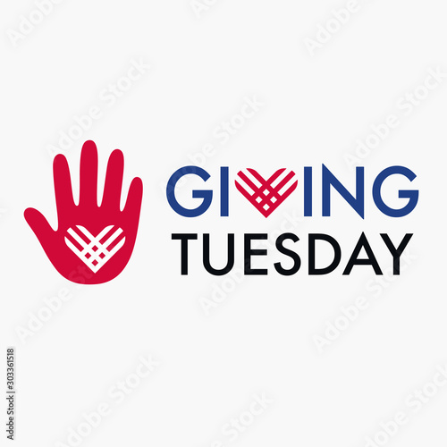 Pinturas sobre lienzo  Giving Tuesday banner design