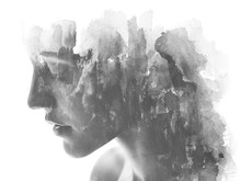 Paintography. Double Exposure....