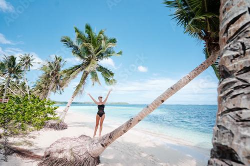 Obraz na plátně  Vacation on the seashore
