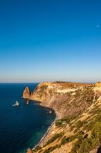 Landscape Sea And Rocks, Cape ...