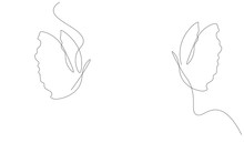 Butterfly Fly Line Drawing, Ve...