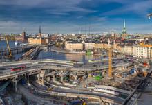 Slussen. Reconstruction. View ...