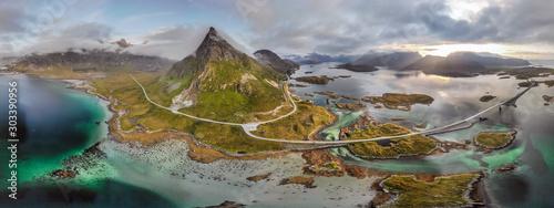 Obraz na plátně Norway amazing nature