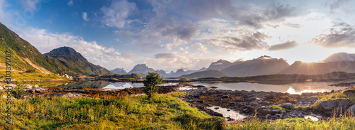 Foto op Canvas Noord Europa Norway amazing nature