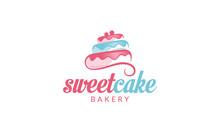 Cupcake Logo, Sweet Cake Logo,...