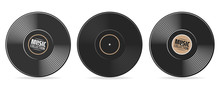 Gramophone Vinyl Record With L...