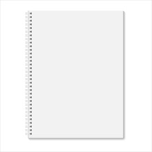 Blank Closed Spiral Notebook I...
