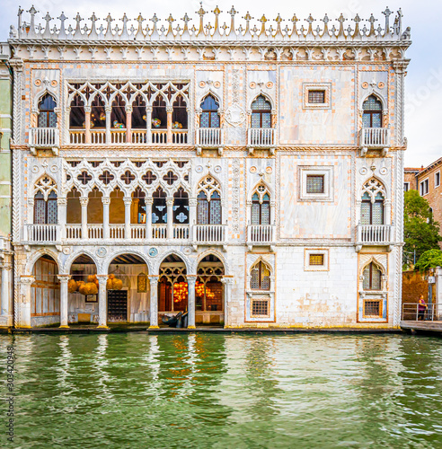 Fototapeta View of Grand Canal in Venice, Italy obraz