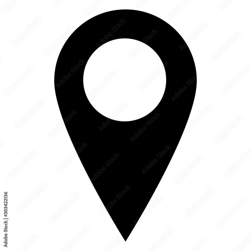 Fototapeta Location icon