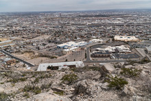 El Paso Texas As Seen From Up ...