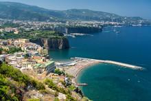 Meta Di Sorrento, Naples: The Coast At Summer