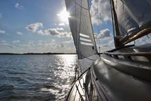 Traditional Wooden Yacht Saili...