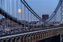 George Washington Bridge In New York, USA