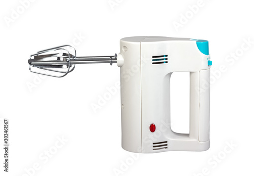 Fotomural  Electric hand mixer is a kitchen appliance