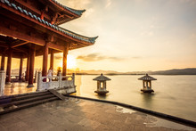 West Lake Landscape, Hangzhou,...