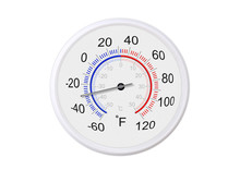 Fahrenheit And Celsius Scale W...