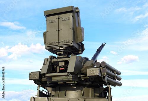 Photo Russian  anti-aircraft  system