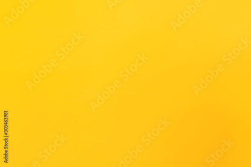 Simple gradient yellow abstract background