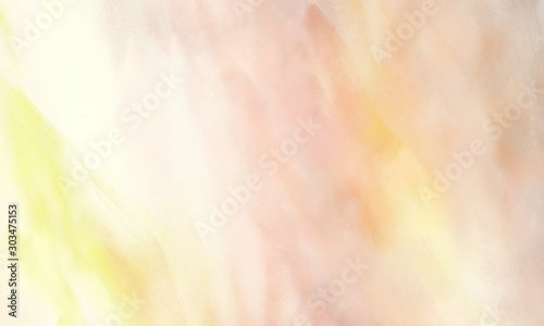 abstract painted background with wheat, bisque and old lace color and space for Fototapet