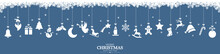 Collection Of Hanging Christma...