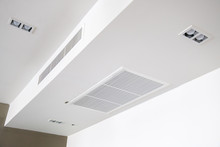 Ceiling Mounted Cassette Type Air Conditioner.