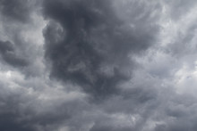 Grey Threatening Thunder Storm...